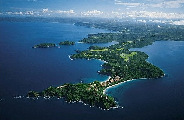 5 hectares to 13 hectares with ocean view  in Papagayo