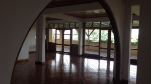 One level home with large terrace, rancho, parking, views