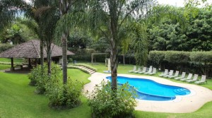 Beautiful furnished apartment with view, A/C, pool, gym La Paco area