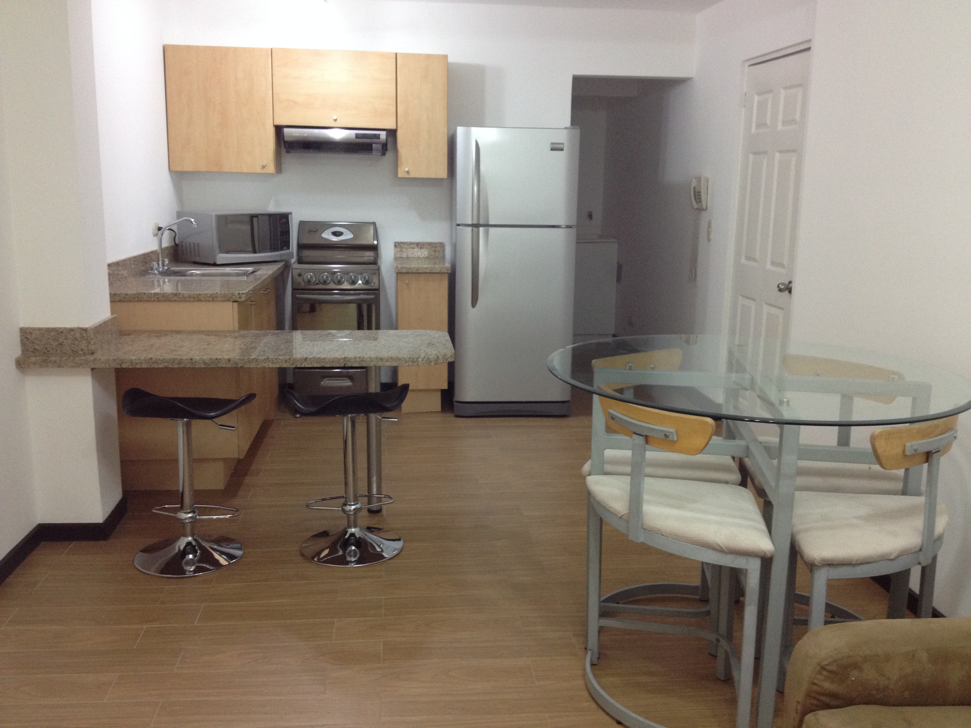 Modern, furnished, 1 bedroom apartment in Escazu, Trejos Montealegre