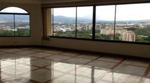 Ample apartment with views