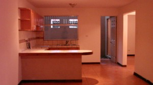 Semi furnished apartment in gated residential