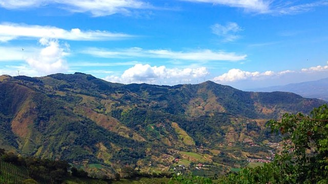 The capital of Costa Rica, San Jose.