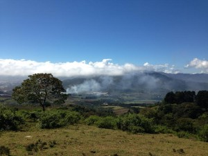 Cartago, a mountainous province in Costa Rica