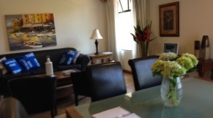 Luxury furnished apartment in condominium with all amenities
