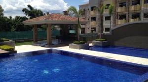 Spacious modern apartment in condominium with pool, tennis and more