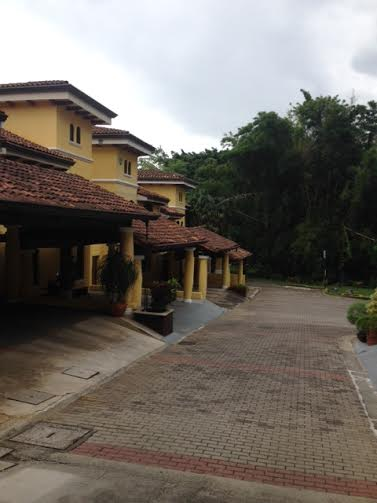 Two story home for rent in small condominium with swimming pool, walk to shopping