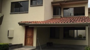 Two story home in condominium near park and Avenida Escazu