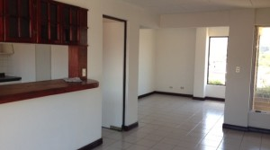 Unfurnished apartment available in condominium without elevator