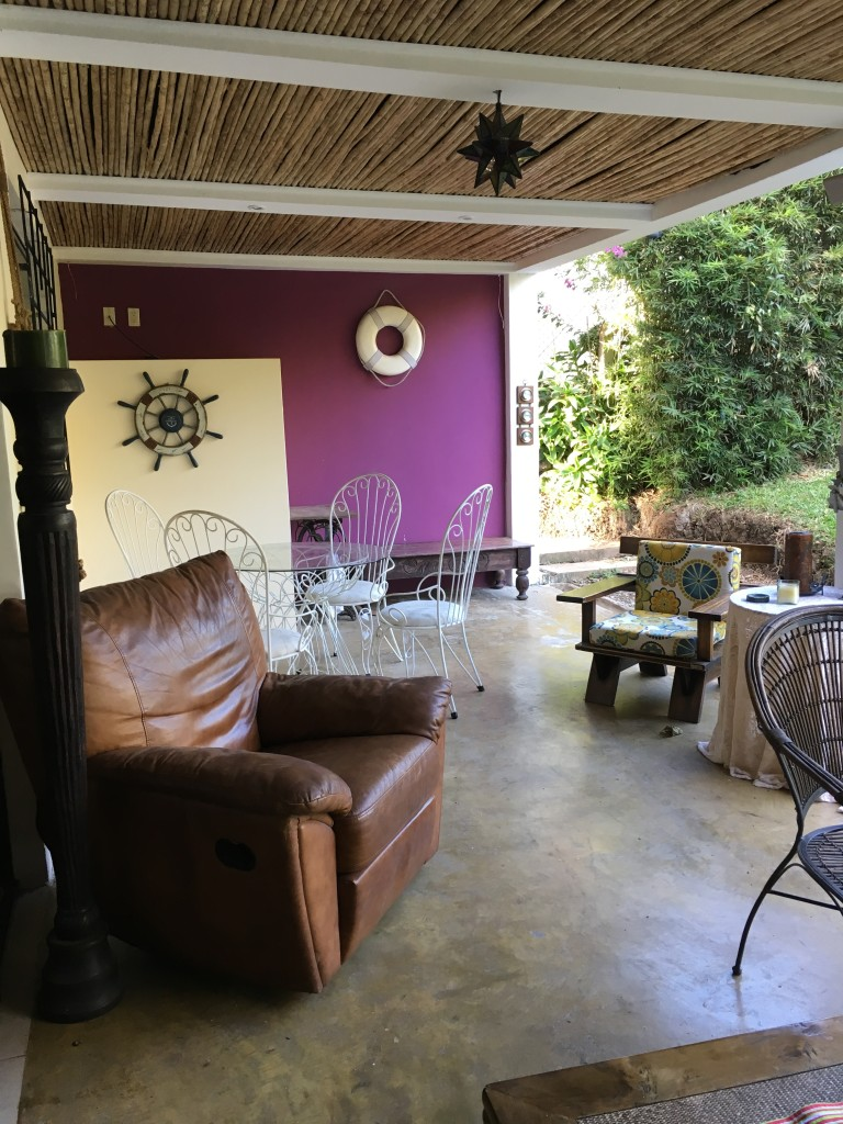 Furnished spacious apartment with private terrace, garden and pool in common area