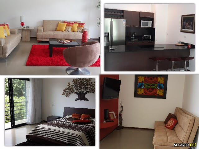 For investor – Modern apartment with tenant in urban condominium with pool, great views