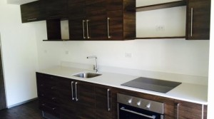Brand new studio apartment with patio in contemporary condominium