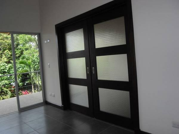 modern condo with patio