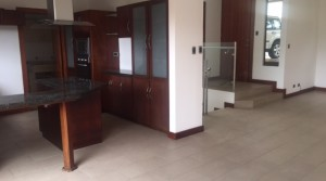 House with views for rent in condominium