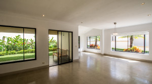 beautiful house in condominium