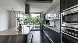contemporary home in condominium