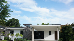 New, contemporary, two story home near Multiplaza.