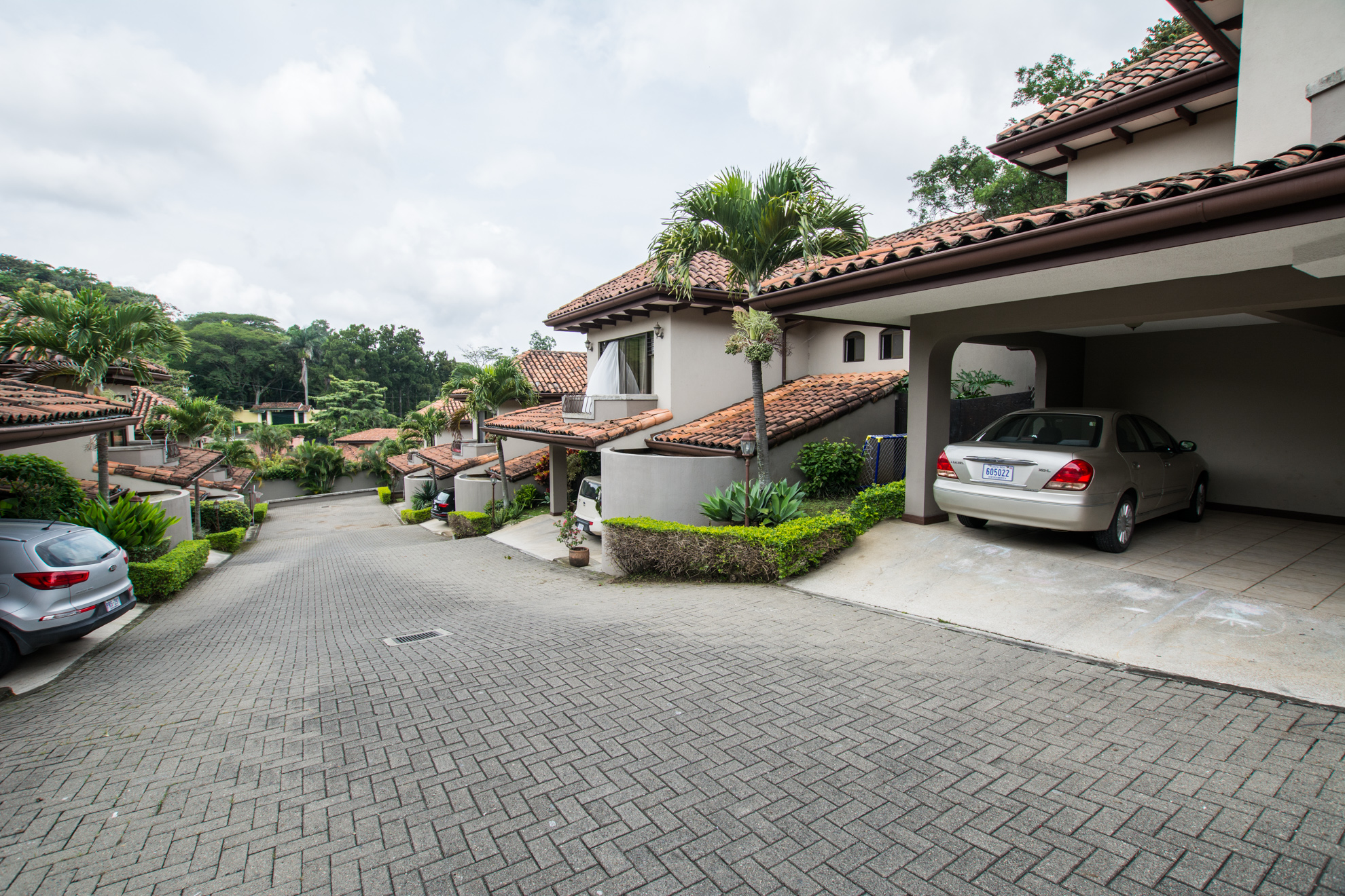 two story house in family oriented condominium