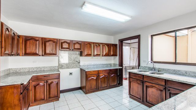 Two story home with patio in condominium