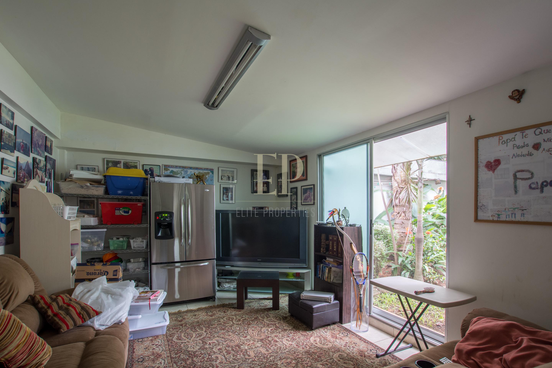 modern house in condominium
