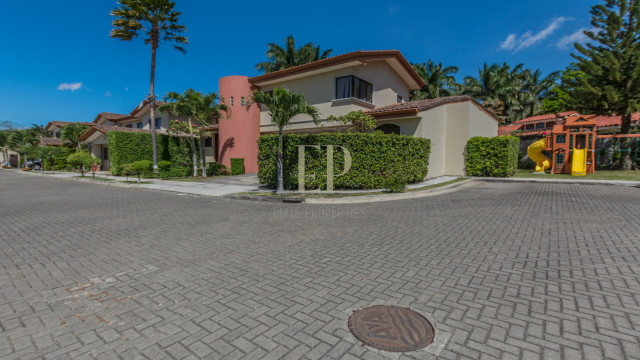 Two story home in condominium with security