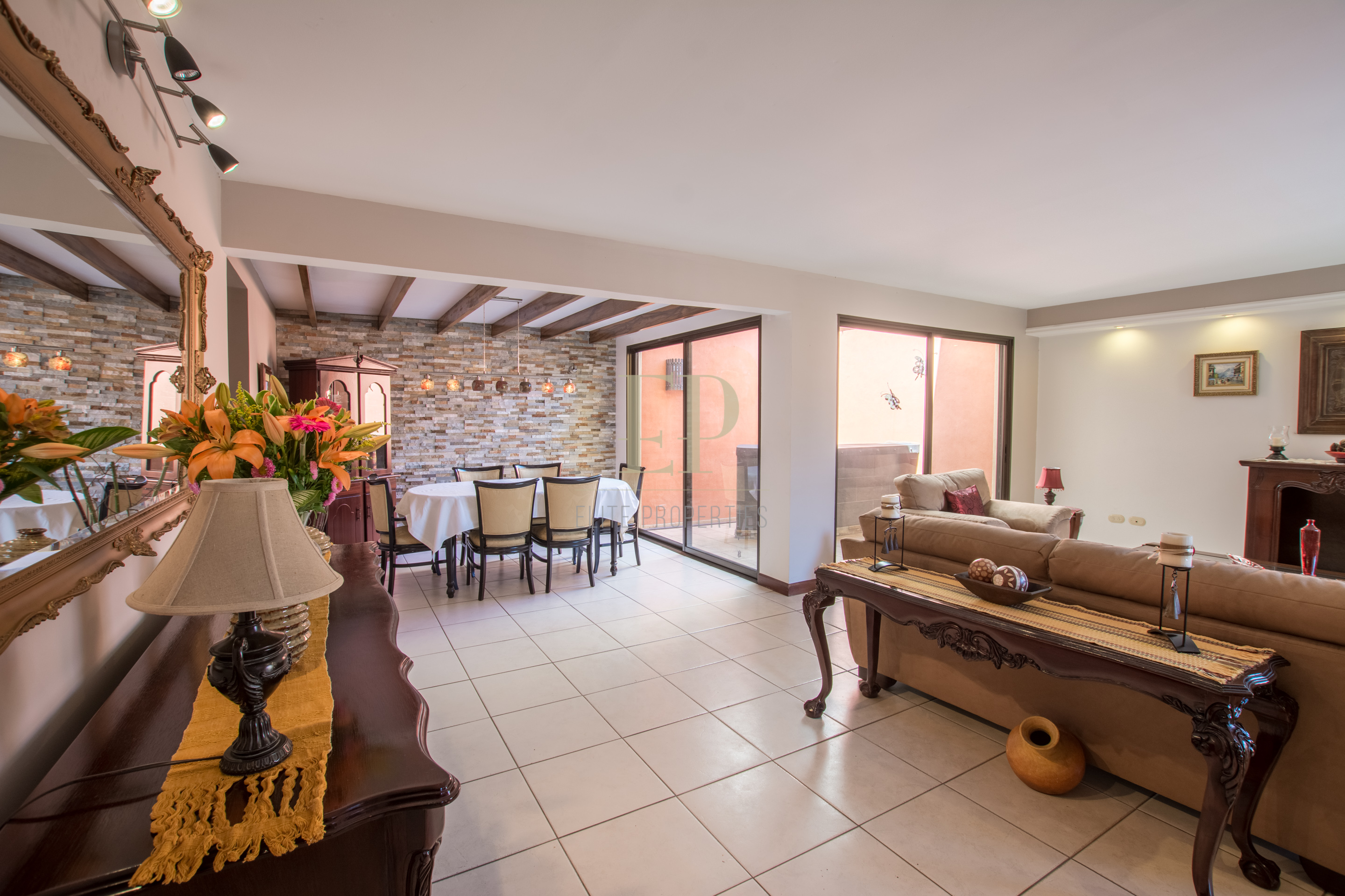 two story home in condominium laureles