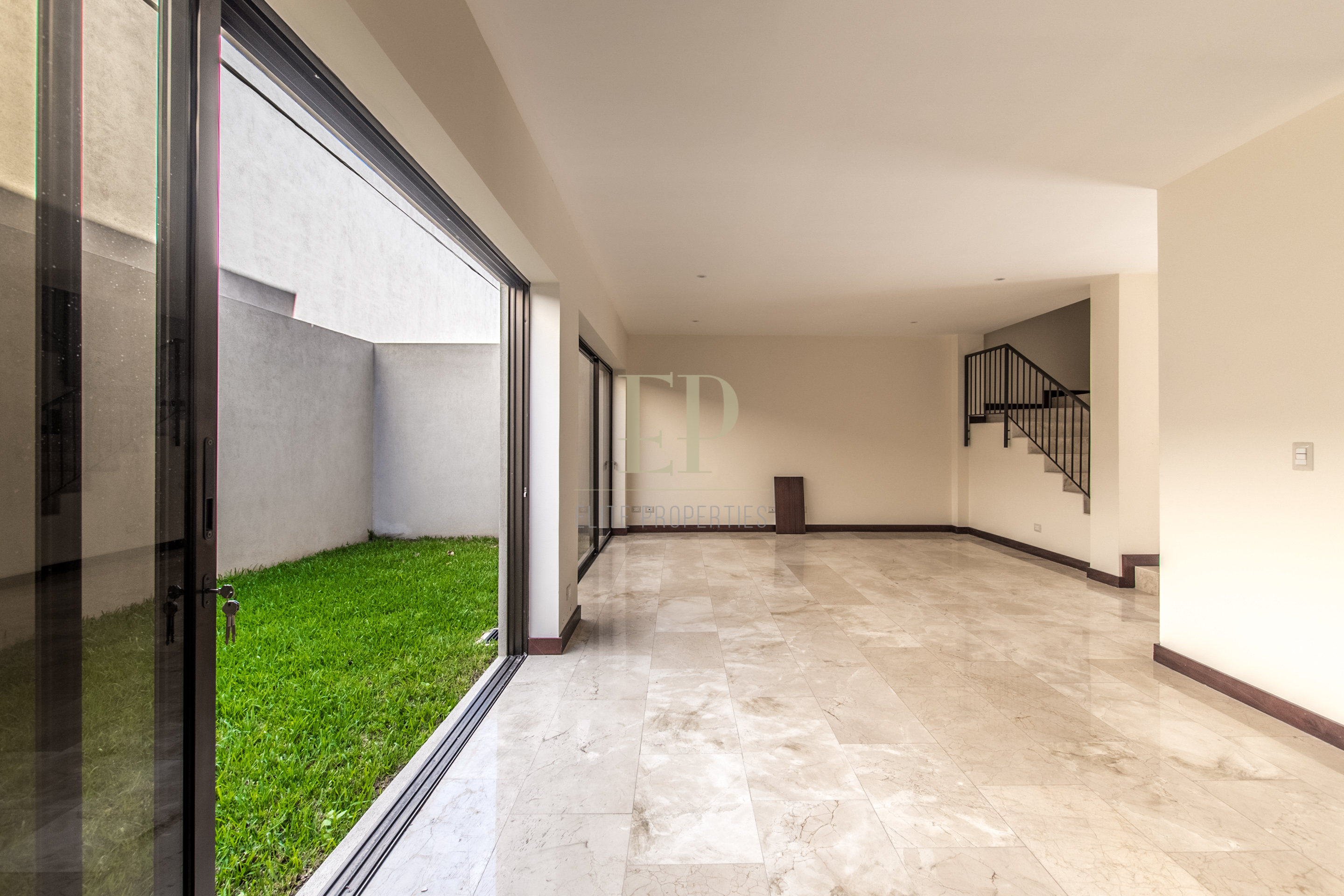 New two story houses in condominium located in Santa Ana Piedades