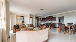 Furnished luxury apartment with views, pool, gym, tennis