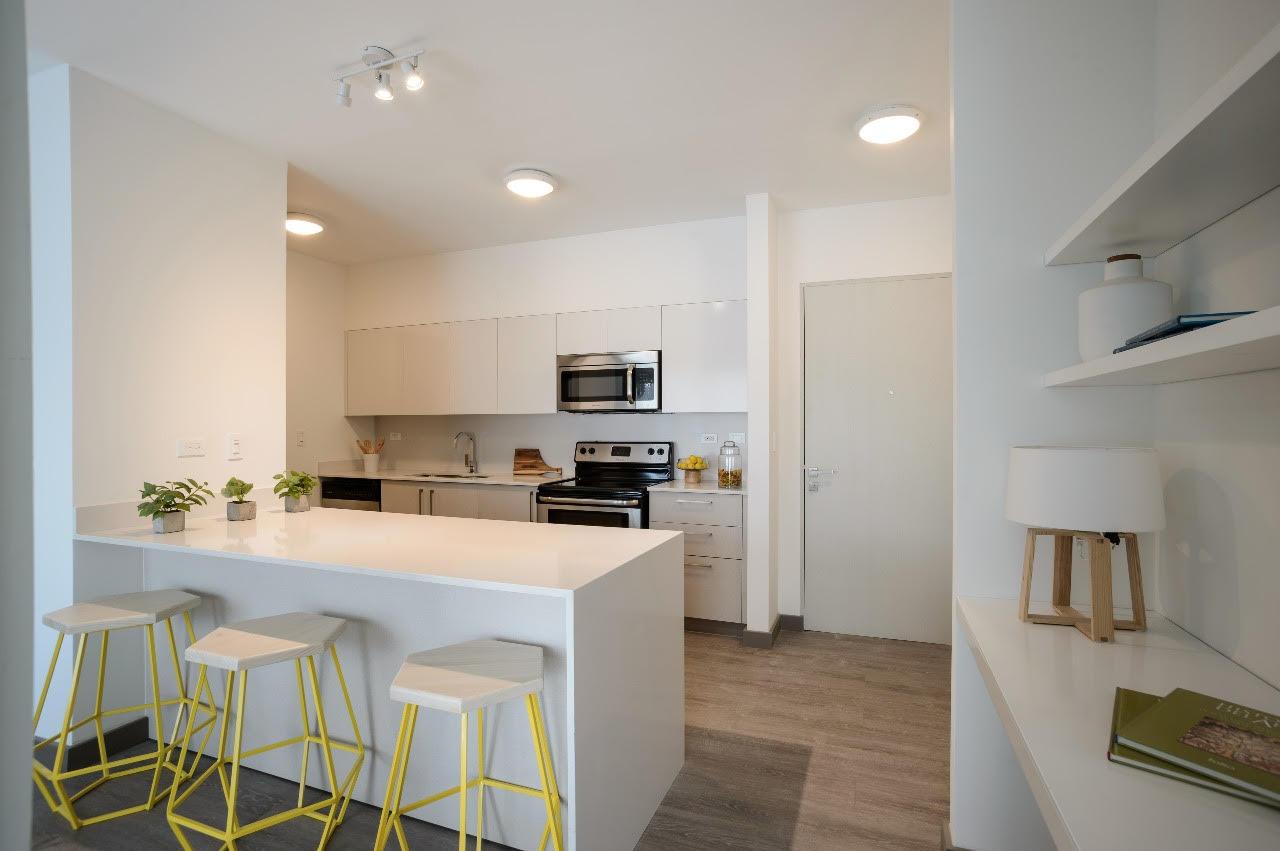 New, contemporary apartments in Brasil de Mora
