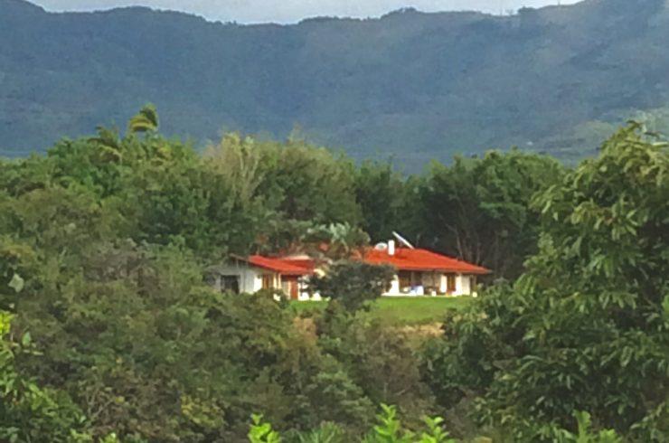 family estate with mountain views