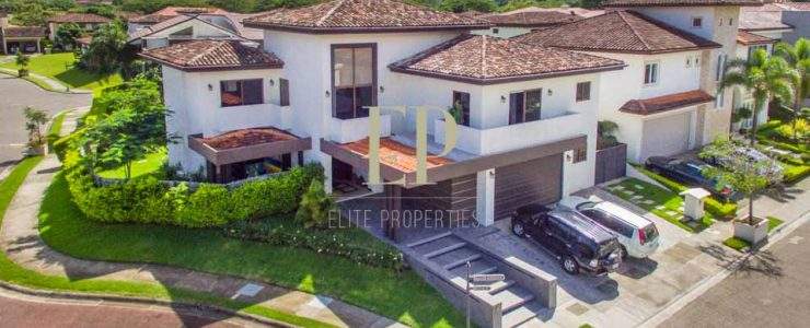Spacious, two story home with ample living area in upscale gated community