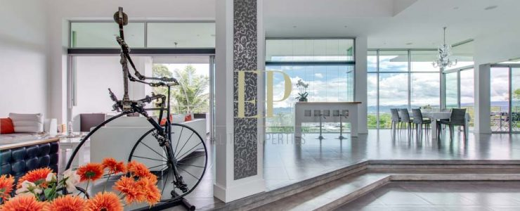Luxury home in Villa Real. Modern, spa-like home integrated with nature.