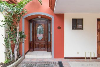 Two story home with cozy patio Escazu, Guachipelin