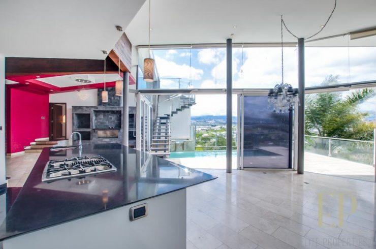 Luxury, modern home with private pool Escazu Guachipelin
