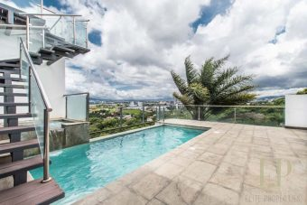 Luxury, modern home with private pool Escazu Guachipelin