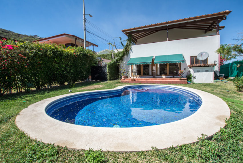 For sale beautiful home with private pool in gated condominium with 24/7 security.