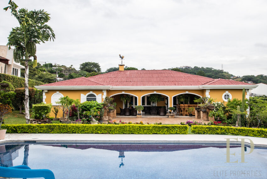 For sale one level beautiful, unique French style home Escazu