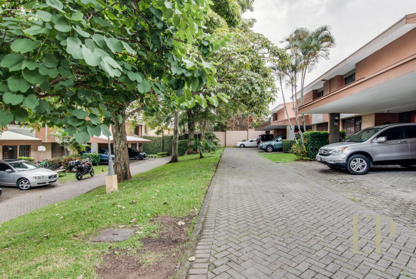 Two story home in condominium Escazu near La Paco