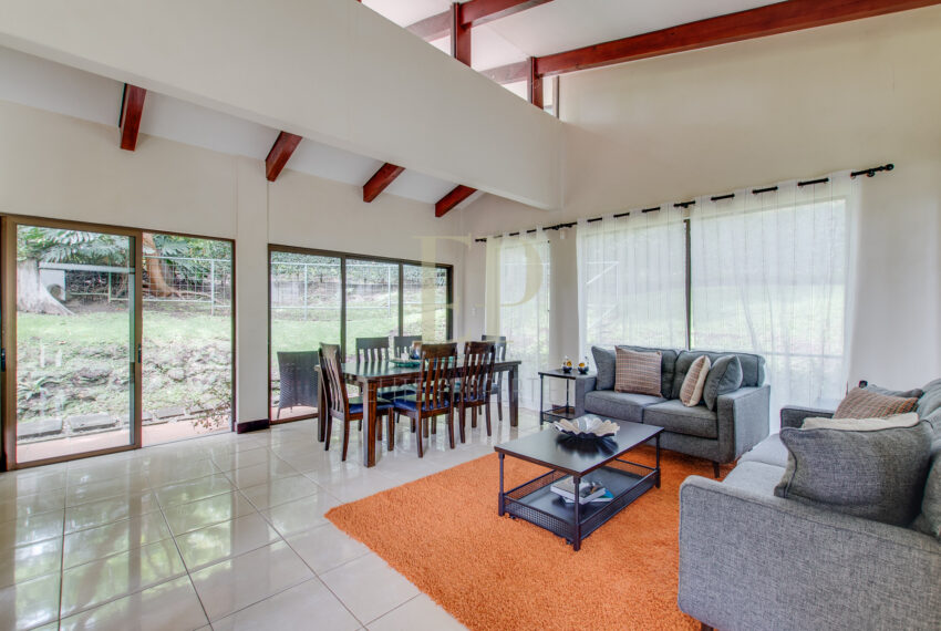 Beautiful one level home in private residential. Escazu Guachipelin