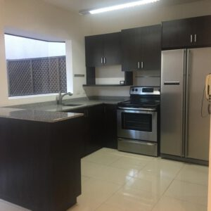 For rent home with patio in Santa Ana Rio Oro near Pricesmart