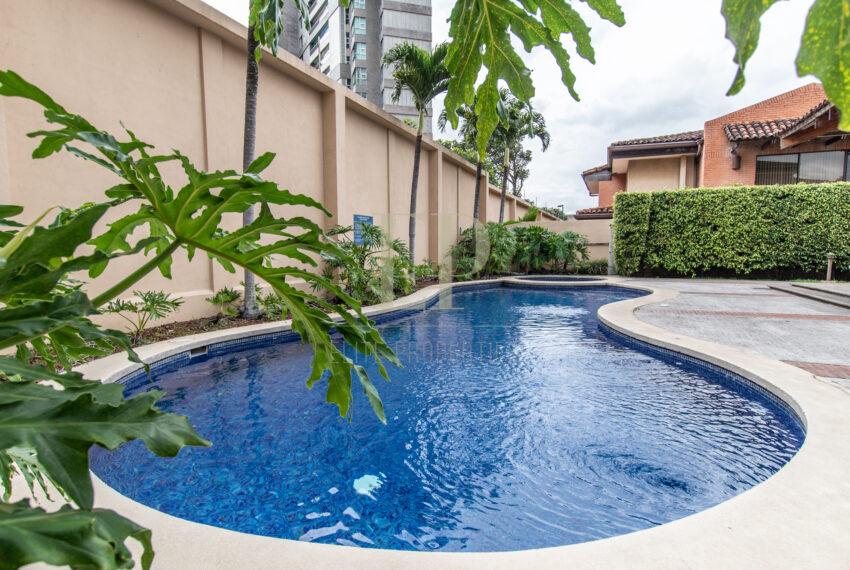 For rent two story home in Condominium Escazu Trejos Montealegre